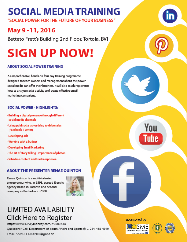 Young Entrepreneurs To Receive Social Media Training ...