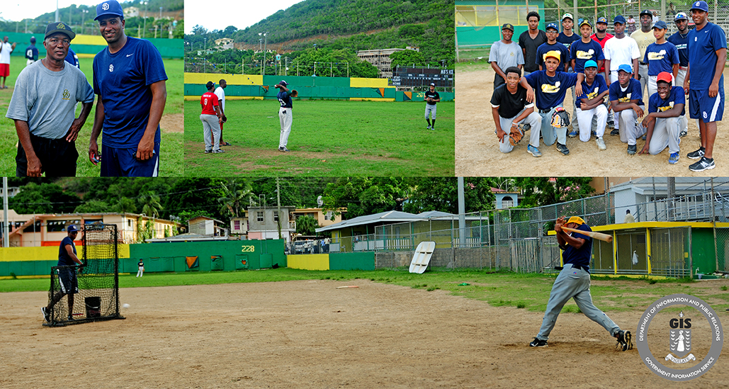 ffe0e2a3aaa San Diego Padres  Scout Visits Tortola For Training And Evaluation ...