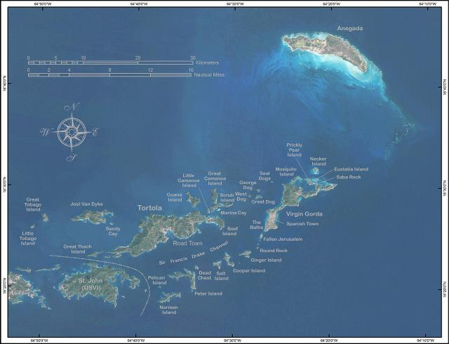 Geography | Government of the Virgin Islands