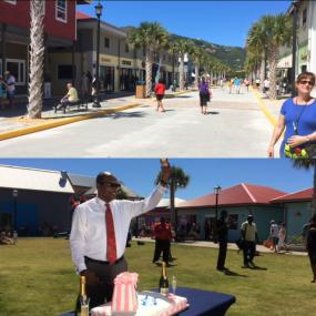 Tortola Pier Park Is One Year Old Government Of The Virgin Islands