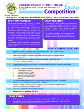 financial services essay competition targets youth government of  youth