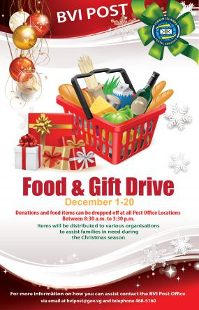 December  Postal Food Drive
